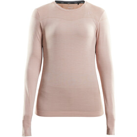 Craft Fuseknit Comfort Roundneck LS Shirt Women touch melange
